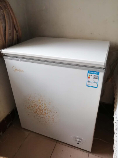美的(Midea)143升 冷藏冷冻转换冰柜 迷你家用小冷柜 一级能效 单温母婴母乳小冰箱 BD/BC-143KM(E) 晒单图