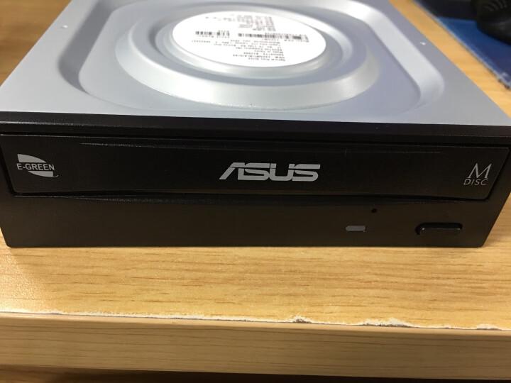 华硕(ASUS) 24倍速 SATA接口 内置DVD刻录机 台式机光驱 黑色(DRW-24D5MT) 晒单图