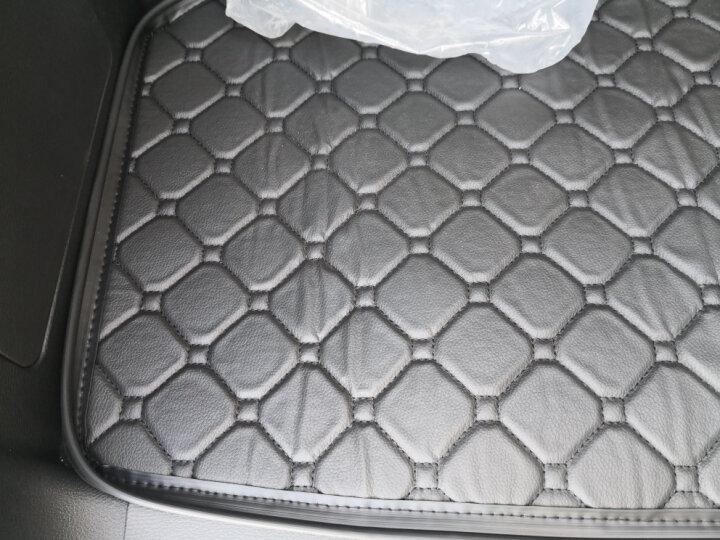 【环保加厚】路泽仕 汽车后备箱垫子 尾箱垫 黑色红线 雪铁龙C4L天逸C5 C4世嘉C6爱丽舍C3-XR 晒单图