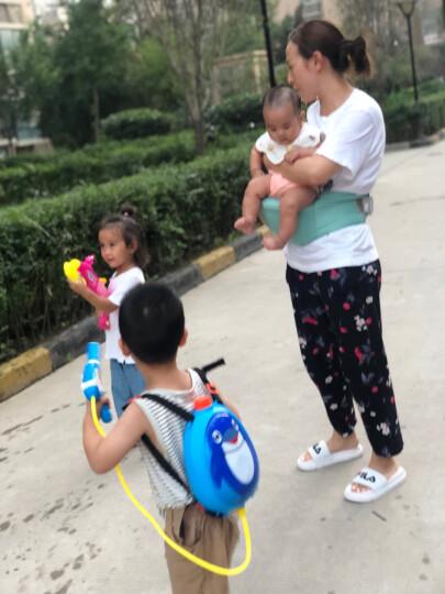 爸爸妈妈(babamama)儿童背包水枪玩具 夏天户外沙滩戏水 双肩背水壶高压喷射水枪 B2003蜜蜂 晒单图