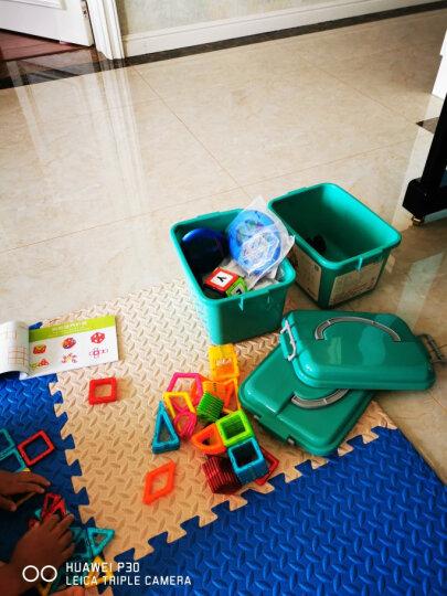铭塔100件套磁力片积木玩具 儿童小孩男孩女孩宝宝2-3-4岁 拼装早教智力收纳盒装 晒单图