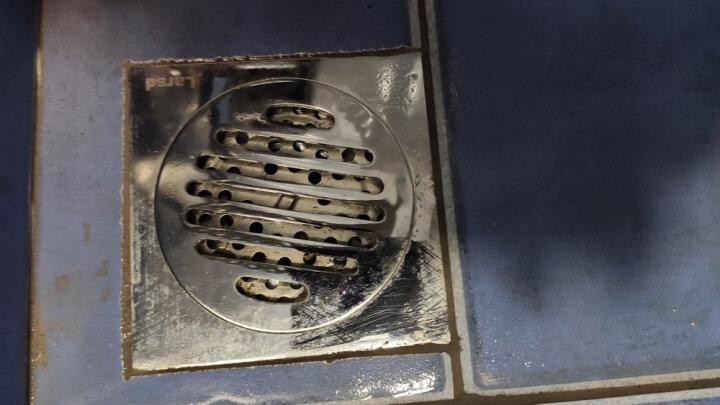 莱尔诗丹(Larsd)7001全铜防臭地漏 卫生间地漏 大流量加厚防堵 晒单图