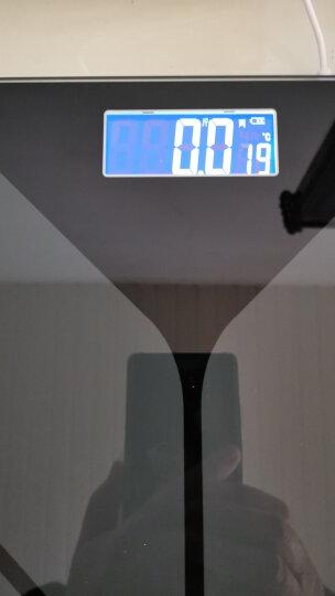 【加大加厚 充电款】Meilen美乐加大秤面称重电子秤人体秤健康秤精准电子称体重秤家用计 体重秤 钢琴黑(充电款) 晒单图