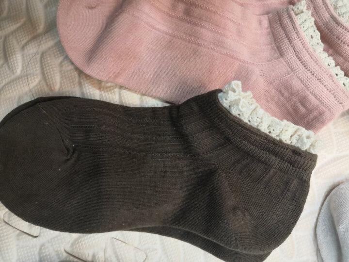 恒源祥纯棉袜子男秋冬款黑色保暖中筒毛圈袜男士运动棉毛袜4双装A211887 晒单图