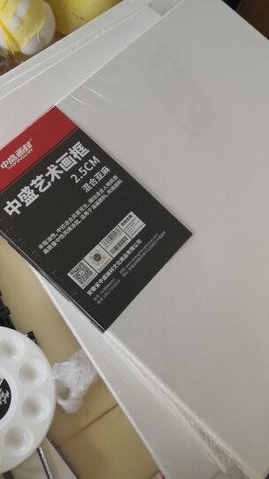 中盛画材(Transon)细纹亚麻油画布框2.5cm厚框条涂层油画框油画颜料用油画板内框 3件包邮 70*90 细纹纹理 晒单图