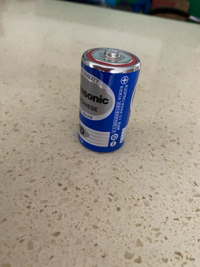 松下(Panasonic)9V碳性方形干电池10节适用于万用表遥控器话筒报警器玩具6F22ND/1S盒装 晒单图