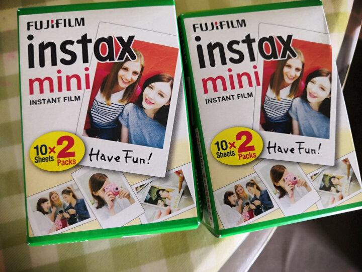 富士(FUJIFILM)INSTAX 一次成像相机 MINI7c相机 可爱粉实用套装(含10张相纸) 晒单图