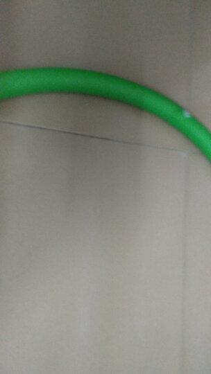 米客 男女呼啦圈韩式成人软指压可拆卸海绵健身弹簧健身运动器材家用 蓝绿色 5磅 晒单图