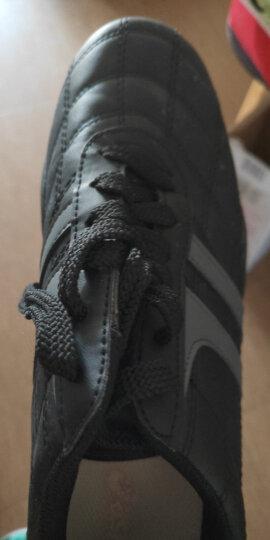 双星儿童碎钉足球训练鞋足球鞋 9011 黑绿 30 晒单图