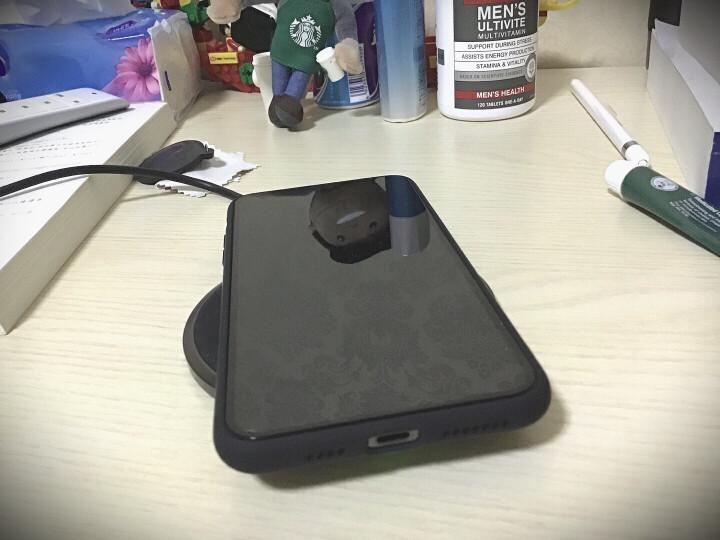绿联 苹果Xs Max/XR/X无线充电器 安卓手机USB桌面Qi快充头底座 支持airpods2/iPhone8P华为三星S9小米30570 晒单图