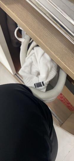 恒源祥袜子男纯棉船袜男四季棉袜薄款运动浅口袜隐形袜6双装 纯色白色款 均码 晒单图