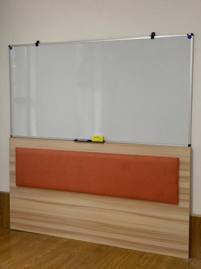 AUCS傲世 30*45cm小白板小黑板挂式家用教学 白班挂式磁性写字板手持看板 晒单图
