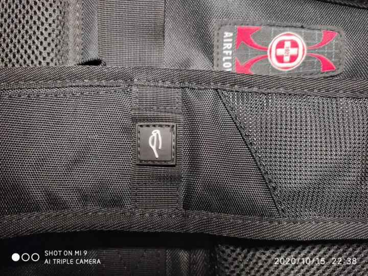 CROSSGEAR防泼水背包15.6英寸/17.3英寸笔记本电脑包学生书包大容量双肩包男商务出差旅行包女CR-9003XL黑色 晒单图