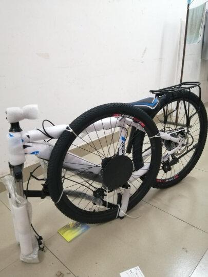 铠美尔 自行车男女成人山地自行车30速/21速双碟刹变速非公路车单车    30速至尊顶配 晒单图