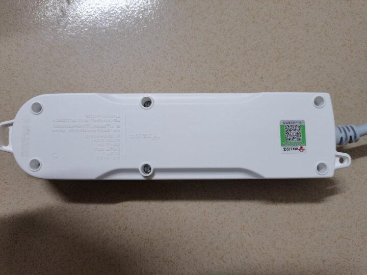 公牛(BULL)新国标插座/插线板/插排/排插/接线板/拖线板 4位分控全长1.8米 GN-315 晒单图
