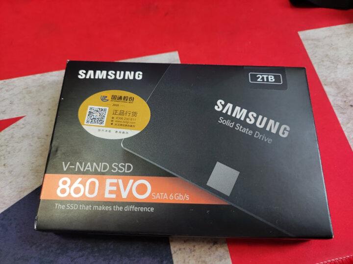 三星(SAMSUNG)2TB SSD固态硬盘 SATA3.0接口 860 EVO(MZ-76E2T0B) 晒单图