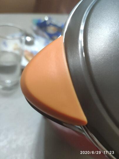 九阳(Joyoung)热水壶烧水壶电水壶 1.7L双层防烫无缝内胆304不锈钢 家用电热水壶JYK-17F05A【邓伦推荐】 晒单图