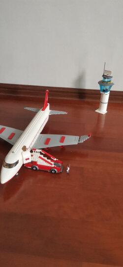 古迪儿童积木拼装玩具男孩火箭航天飞机拼装模型益智拼插玩具6-8-10-12岁生日礼物 大型客机8913 晒单图