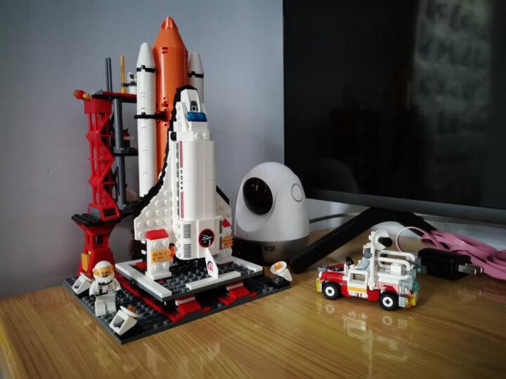 古迪儿童积木拼装玩具男孩火箭航天飞机拼装模型益智拼插玩具6-8-10-12岁生日礼物 国际机场+大型客机89128913 晒单图