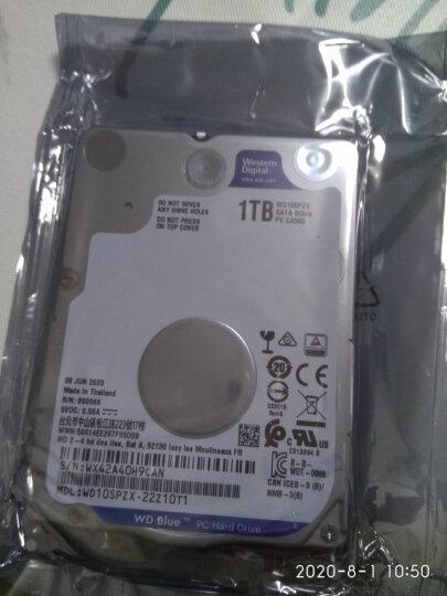 西部数据(WD) 蓝盘 1TB 2.5英寸SATA3 笔记本机械硬盘 WD10SPZX 7mm 晒单图
