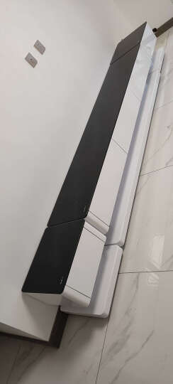 古宜 新款电视柜客厅简约现代电视机柜 中小户型电视柜套装背景墙茶几组合 钢化玻璃钢琴烤漆地柜 黑色电视柜1.8米 晒单图