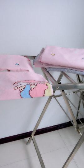 水星家纺 儿童卡通三四件套纯棉 全棉印花女童ins风四件套 公主风床品套件床单被罩 月亮双子星(抗菌) 1.8M(适配220*240cm被芯) 晒单图