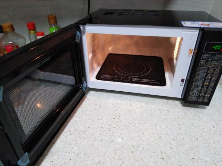 格兰仕微波炉 光波炉 微烤箱一体机 家用平板智能预约700W功率20L电脑操控预约解冻DG(B0) 晒单图