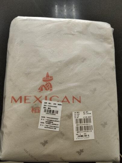 稻草人MEXICAN欧美大牌商务休闲男包 时尚单肩斜挎包布料单肩包 MZU50428M-03黑色 晒单图