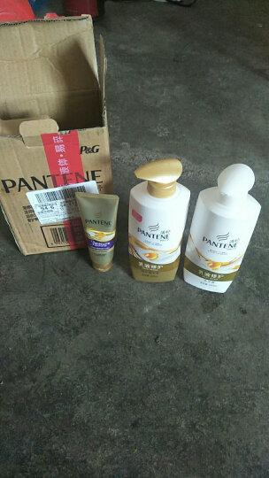潘婷氨基酸洗发水套装乳液修护(洗发露500ml+护发素500ml)送发膜70ml 晒单图