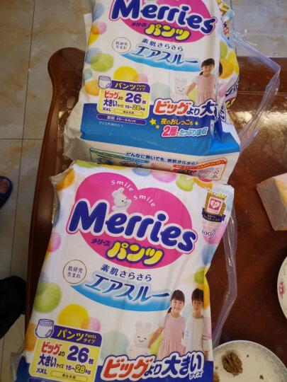 花王妙而舒Merries婴儿学步裤 XXL26(15-28kg)特大号拉拉裤尿不湿(日本工厂直供) 晒单图