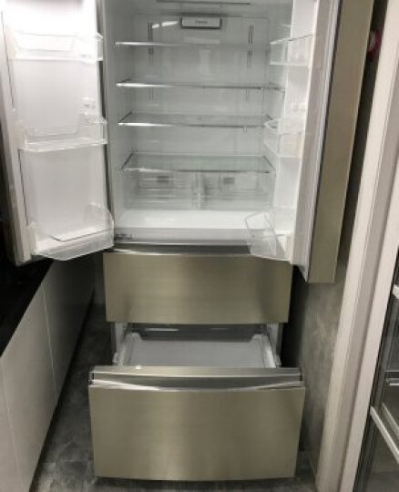 格力(KINGHOME)晶弘 465升风冷无霜 节能变频多门冰箱 格力晶弘BCD-465WPQC / 金拉丝 晒单图