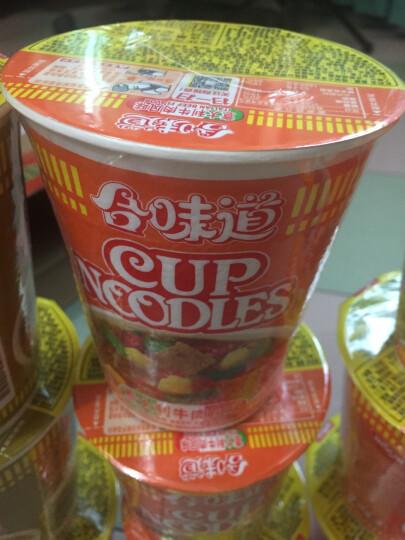 日清 方便面 合味道 麻辣牛肉风味 83g 杯装 晒单图