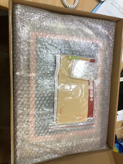 万晶 实木像框挂墙新版营业执照框A3A4相框摆台8K4开画框奖状授权框证书框 可定制 白色 A4(21*29.7厘米)带支架 晒单图