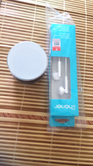 荣耀耳机有线半入耳式手机音乐耳机兼容小米/oppo/vivo手机 【金属版】AM116- 白色 原装带防伪 晒单图