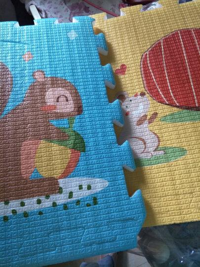 贝博氏宝宝爬行垫拼接地垫加厚拼图爬爬垫婴儿童泡沫地垫EPE奇幻海域(56cm*56cm*2cm*6片装 送边条)PX01A2 晒单图