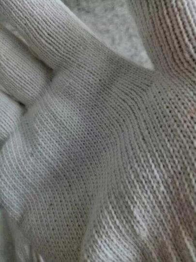 爱马斯(AMMEX) 爱马斯 无粉麻面型一次性耐用丁腈手套食品实验室家务防护橡胶加厚 耐油 蓝色4.6克/APFNCHD M(100只/盒) 晒单图