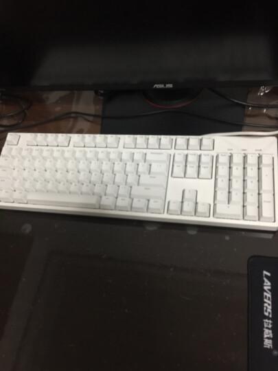 ikbc C104 机械键盘 有线键盘 游戏键盘 104键 原厂cherry轴 樱桃轴 吃鸡神器 笔记本键盘 白色 红轴 晒单图