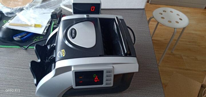 得力(deli) 33090S 智能语音点钞机/验钞机 可混点 银灰色 晒单图