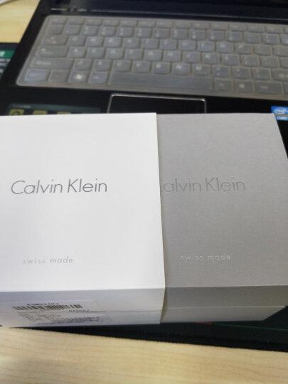 CK卡文克莱(CalvinKlein) LIGHT系列手表 银色钢表带手镯式石英女表 K6L2M116 晒单图