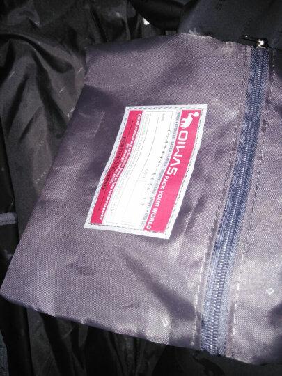 爱华仕(OIWAS)拉杆包 防泼水大容量户外旅行袋 休闲运动拉杆包 8001红色 晒单图