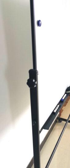 得力(deli)高端系列支架式白板180*90cmH型支架可移动可翻转白板双面磁性办公会议写字板 赠白板擦笔磁钉7884 晒单图