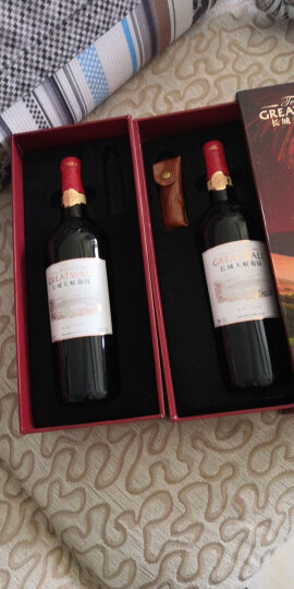 长城(GreatWall)红酒 天赋葡园珍藏级赤霞珠干红葡萄酒 整箱装 750ml*6瓶(木盒装) 晒单图