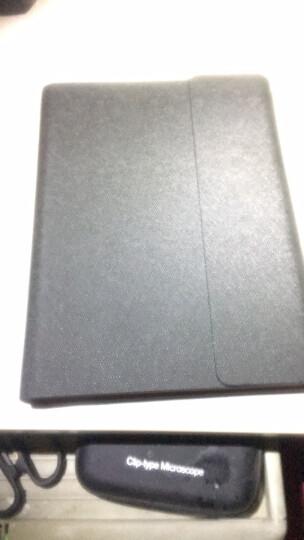 得力(deli)25K100张精装活页笔记本子文具 商务记事本皮面本办公用品 蓝33051 晒单图