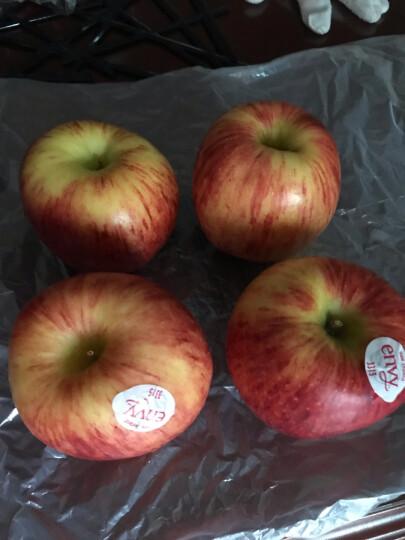 新西兰进口爵士苹果 特级果4粒筒装 单筒重400g 生鲜水果 晒单图