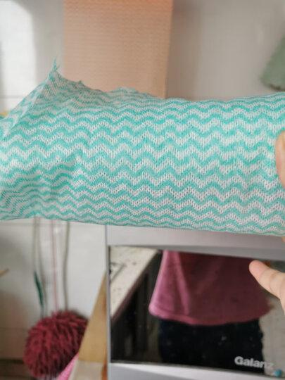 喜家家 一次性抹布厨房清洁洗碗布无纺布擦桌布不易沾油百洁布 3卷装-150张 晒单图