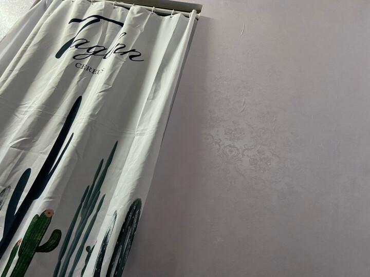 斯图 加厚防水PVC墙纸壁纸自粘卧室客厅宿舍寝室背景纸贴壁纸贴画3D彩装膜 9956-1白底小花 60厘米/3米价 晒单图
