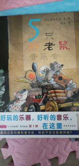 5只好老鼠 造房子 捡垃圾造房子 蒲蒲兰绘本 晒单图