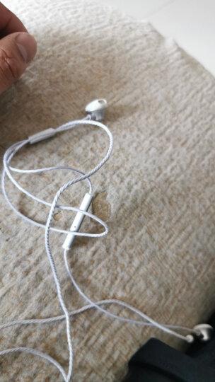 毕亚兹(BIAZE)耳机入耳式带线控麦克风 手机耳机耳麦 华为/oppo/小米/vivo/苹果手机电脑通用耳塞 E8金 晒单图