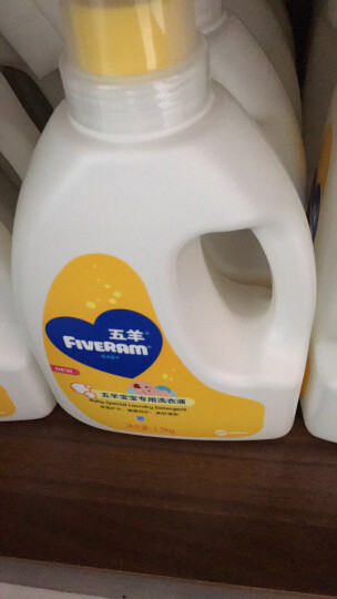 五羊(FIVERAMS)洗衣液婴儿洗衣液儿童洗衣液内衣洗衣液 抑菌洗衣液8.4斤(1.2kg+1kg×3)含艾叶精华 箱装 晒单图