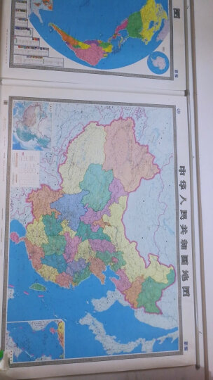 中国地图挂图(升级商务版 1.5米*1.1米 办公室书房专用挂图 无拼缝 ) 晒单图